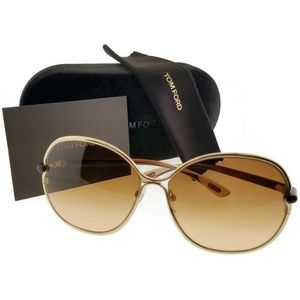 Tom Ford FT0222-28A-63 Leila Women's Sunglasses